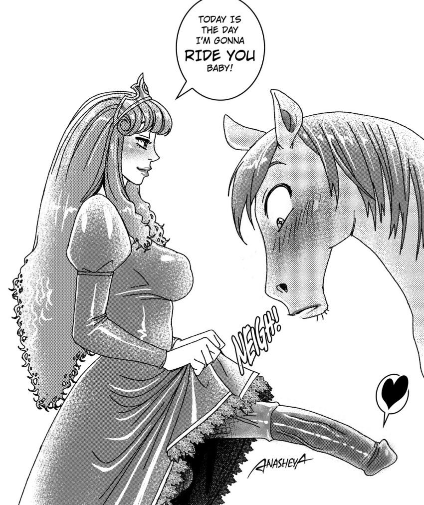 horse dick futanari