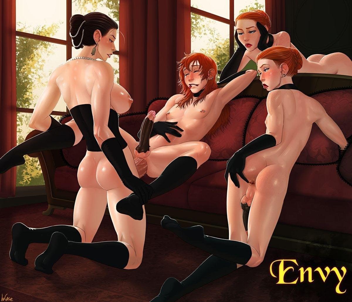 seven deadly sins futanari